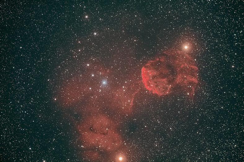 IC 443 - RESTO DI SUPERNOVA NELLA COSTELLAZIONE DEI GEMELLI Autori: Paolo Calcidese & Stefano Cademartori