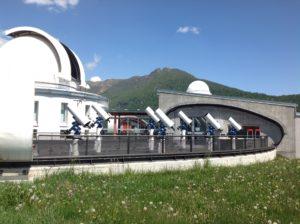 Terrazza didattica Osservatorio Valle d'Aosta