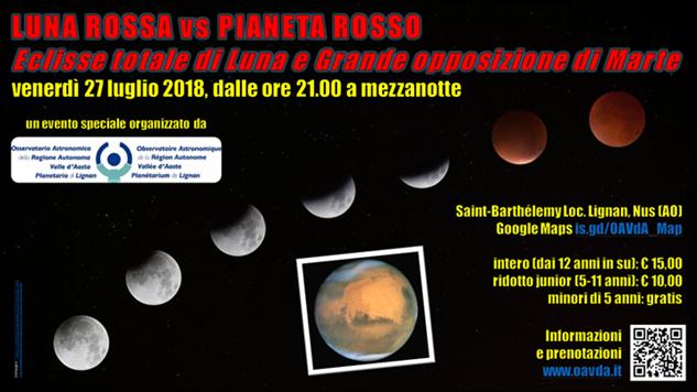 Luna rossa vs pianeta rosso