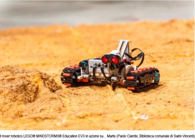 rover Robotico Lego